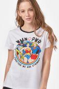 Camiseta Feminina DC Comics WMN PWR
