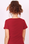 Camiseta Feminina Esquadrão Suicida Arlequina Flowers