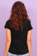 Camiseta Feminina Esquadrão Suicida Arlequina Lips