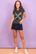 Camiseta Feminina Esquadrão Suicida Task Force X