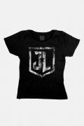 Camiseta Feminina Liga da Justiça Snyder Cut - Join The League