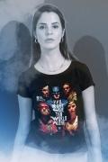 Camiseta Feminina Liga da Justiça Snyder Cut - Pôster