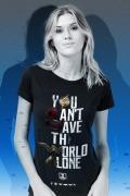 Camiseta Feminina Liga da Justiça Snyder Cut - You Can't Save Color
