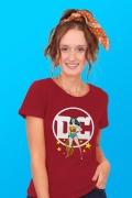 Camiseta Feminina Logo DC Mulher Maravilha