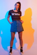 Camiseta Feminina Mulher Maravilha 1984 WW84