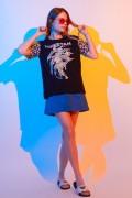 Camiseta Feminina Mulher Maravilha Cheetah Classic