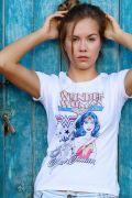 Camiseta Feminina Power Girls Mulher Maravilha
