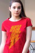 NÃO ATIVAR Camiseta Feminina Shazam Thunder
