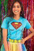 Camiseta Feminina Supergirl Body