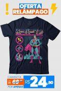 Camiseta Feminina Superman Japan