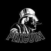 Camiseta Feminina The Penguin Tracing