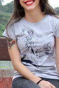 Camiseta Feminina Tracing Coringa