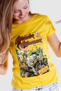 Camiseta Feminina Wonder Woman HQ Nº1