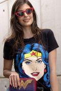 NÃO ATIVAR Camiseta Feminina Mulher Maravilha Pop Culture