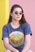 Camiseta Feminina Wonder Woman Vintage