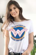 Camiseta Feminina Mulher Maravilha Warrior Demi Goddess