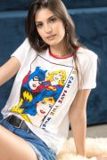 Camiseta Feminina Mulher Maravilha We Can Save the World