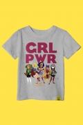 Camiseta Infantil GRL PWR