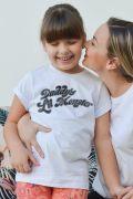 Camiseta Infantil Esquadrão Suicida Daddy's Lil Monster