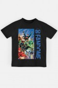 Camiseta Infantil Fandome Liga da Justiça