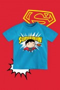 Camiseta Infantil Superman Chibi