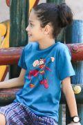 Camiseta Infantil Superman Em Ação