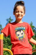 Camiseta Infantil Superman Kid