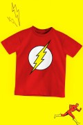 Camiseta Infantil The Flash Logo