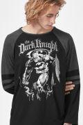 Camiseta Manga Longa Masculina Batman The Dark Knight