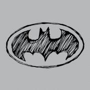 Camiseta Manga Longa Raglan Feminina Batman Tracing Logo