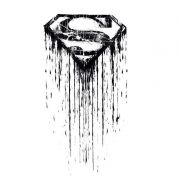 Camiseta Manga Longa Raglan Feminina Superman Steel Melting