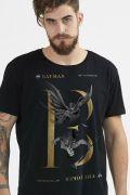 Camiseta Masculina Batman 80 Anos Nêmesis