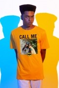 Camiseta Masculina Batman Batman e Robin Call Me