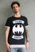 Camiseta Masculina Batman Crime Fighter