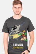 Camiseta Masculina Batman e Robin