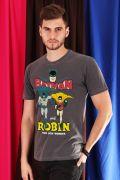 Camiseta Masculina Batman e Robin, O menino Prodígio