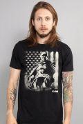 Camiseta Masculina Batman Flag