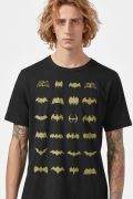 Camiseta Masculina Batman Logos Collection