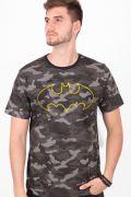 Camiseta Masculina Batman Militar