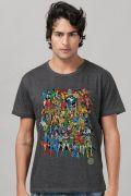 T-shirt Premium Masculina DC Comics Originals Mescla