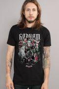 Camiseta Masculina DC Comics Vilões de Gotham