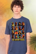 Camiseta Masculina Esquadrão Suicida Faces