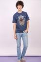 Camiseta Masculina Esquadrão Suicida Peacemaker