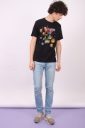 Camiseta Masculina Esquadrão Suicida Polkadot Colored Balls