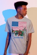 Camiseta Masculina Fandome Black Heroes