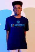 Camiseta Masculina Fandome Logo Superman