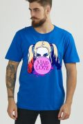 Camiseta Masculina Harley Quinn Mad Love