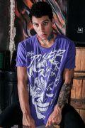 Camiseta Masculina Joker Purple