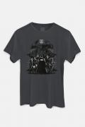 Camiseta Masculina Liga da Justiça Snyder Cut - Personagens Liga