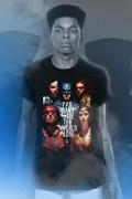 Camiseta Masculina Liga da Justiça Snyder Cut - Pôster